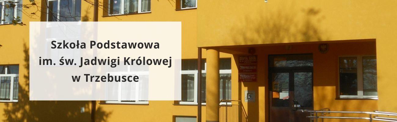 Szkoła Podstawowa im. św. Jadwigi Królowej w Trzebusce